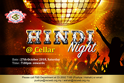 Hindi Night @ Cellar