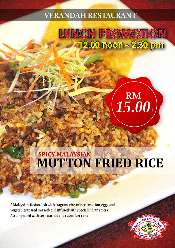 Mutton Fried Rice